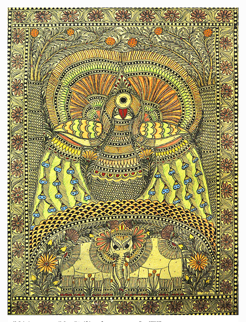 , 'Melange - Madhubani - Indian Tribal & Traditional Art,' 2013, ICAC