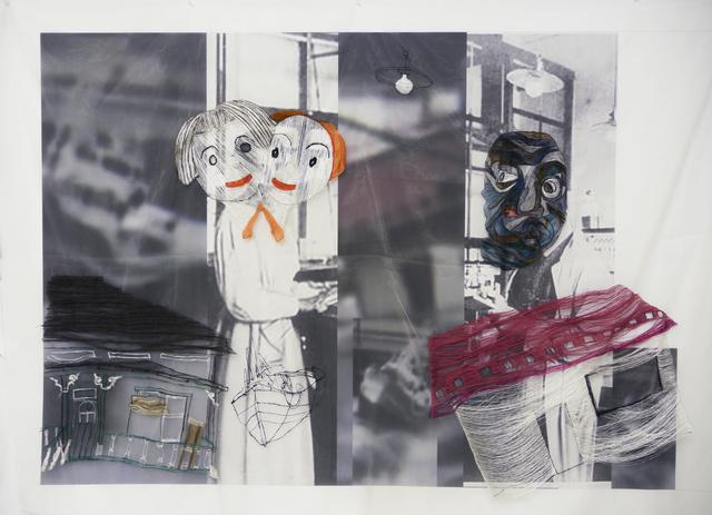 , 'A woman meets a man 1 ,' 2014, Dominik Mersch Gallery