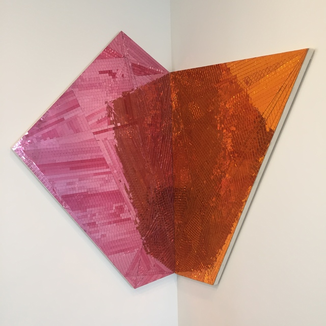 , 'Toward Great Becoming (orange/pink),' 2014, The FLAG Art Foundation