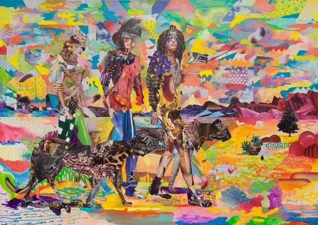, 'Field Strolling,' 2014, Mirus Gallery