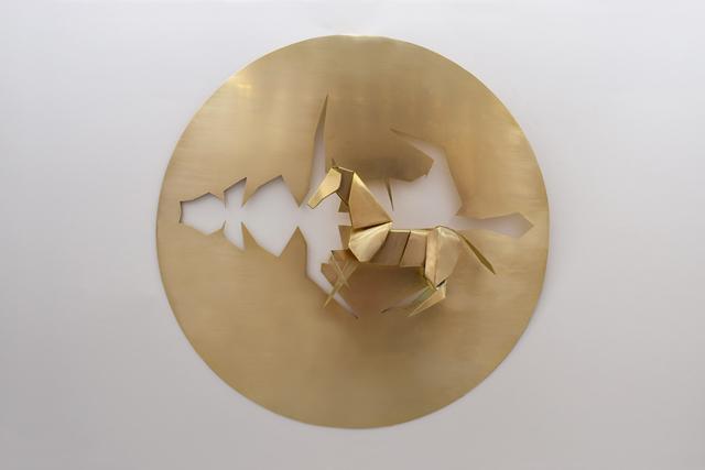 , 'Folding From A Piece - Horse,' 2019, Karin Weber Gallery