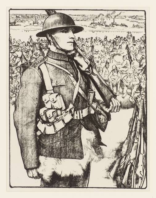 , 'Making Soldiers: The Great War ,' ca. 1917, Osborne Samuel