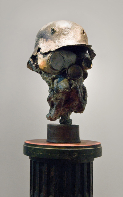 , 'GERMAN SOLDIER WITH GAS MASK,' , Anima-Mundi