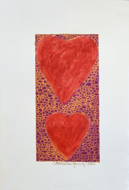 , 'Two Hearts Strong,' 2018, Carter Burden Gallery