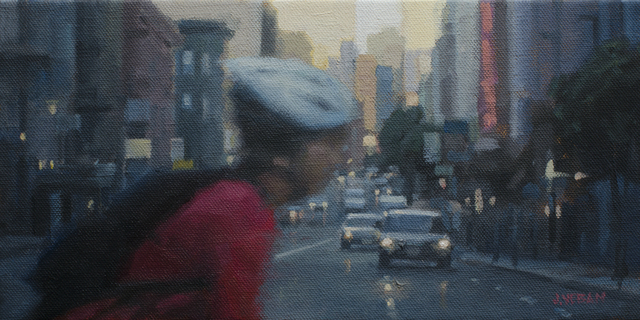 , 'The Cyclist Study,' 2015, Abend Gallery