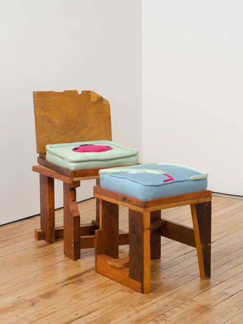 , 'Snake and Killroy (chair) Holding a Dying Star (ottoman) ,' 2014, Fleisher/Ollman