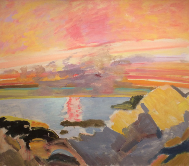 , 'Pink and Yellow,' 1985, Alpha Gallery