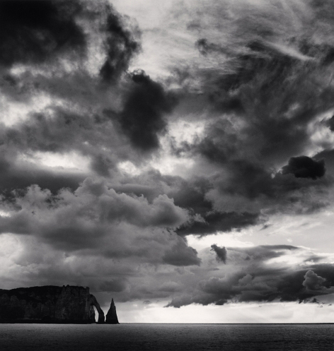 Michael Kenna, 'Falaise d'Aval et Nuages, Normandy, France', 2000, Weston Gallery
