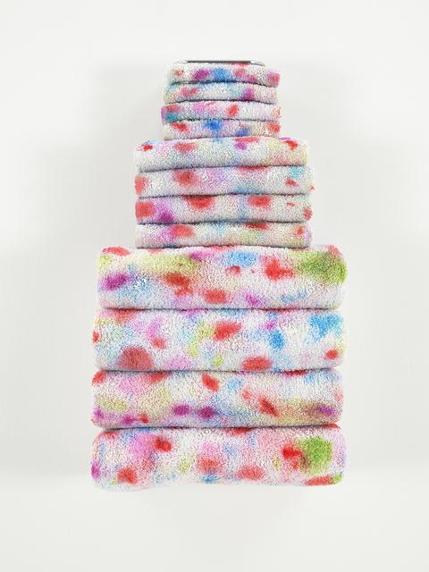 , 'Untitled Textile Arrangement (TOWEL RACK #6),' 2015, Mitchell-Innes & Nash