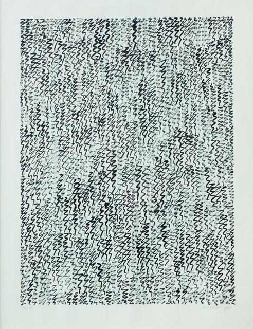 Jan Schoonhoven, 'T 79-82', 1979, BorzoGallery