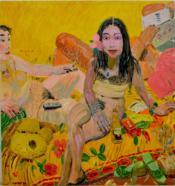 , 'Sunflower Woman,' 2005, Ethan Cohen New York