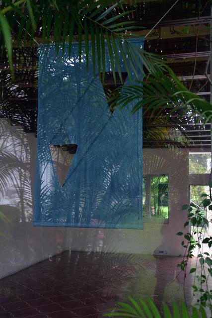 , 'Indigo (#3),' 2015, Proyectos Ultravioleta