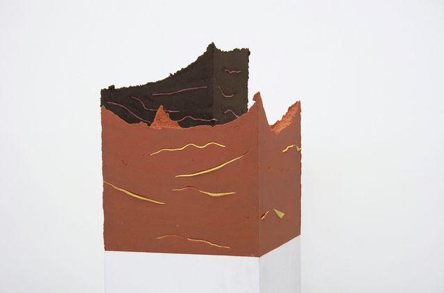 , 'Untitled (Sockel),' 2013, Galerie Clemens Gunzer