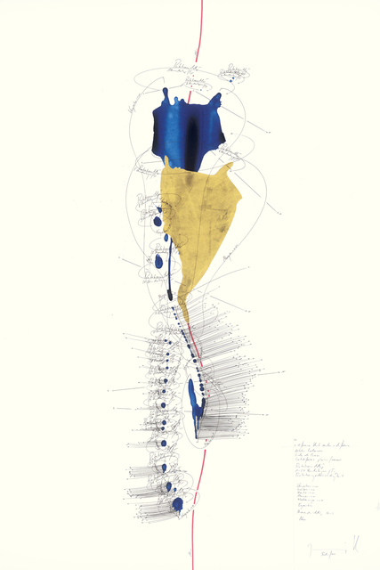 Jorinde Voigt, 'A Difference that Makes a Difference 4 / Niklas Luhmann / Liebe als Passion / Leitdifferenz plaisir / amour', 2014, David Nolan Gallery