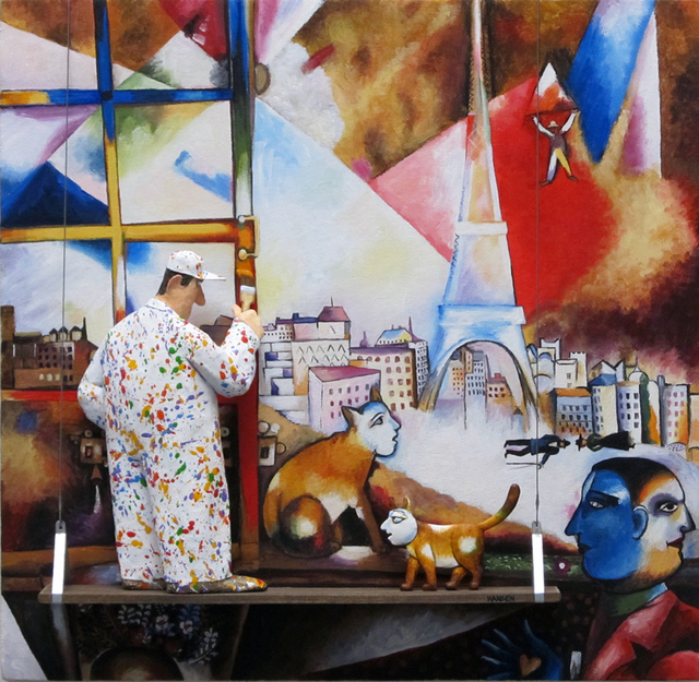 , 'Paris Through the Window (Marc Chagall),' 2015, Zenith Gallery