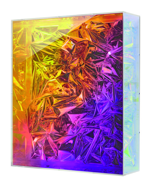 , 'Untitled (iridescent box),' 2013, Opera Gallery