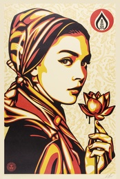 Shepard Fairey, 'Natural Springs,' 2016, Forum Auctions: Editions and Works on Paper (March 2017)