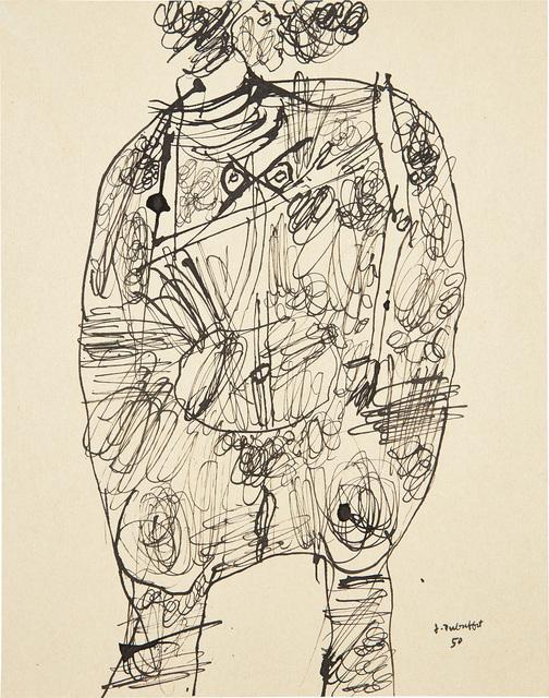 Jean Dubuffet, 'Corps de dame', 1950, Phillips