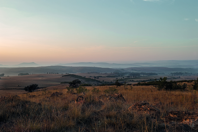 , 'The Cradle of Humankind from Spioenkop - sniper outpost used by boers during wars with African chiefdoms and Britons,' , Sulger-Buel Lovell
