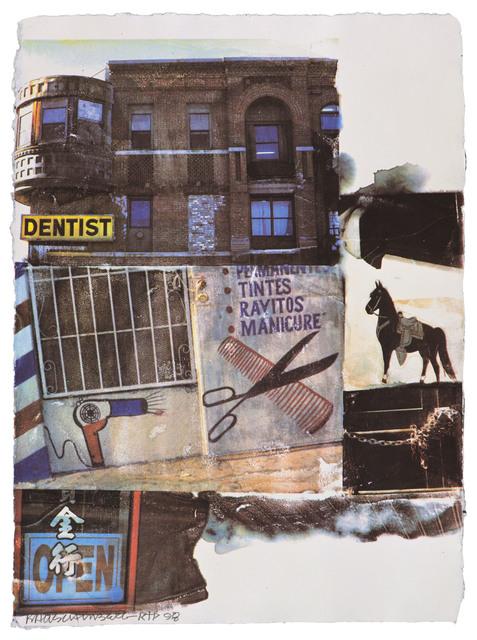 Robert Rauschenberg, 'L.A. Uncovered #10', 1998, Gemini G.E.L.