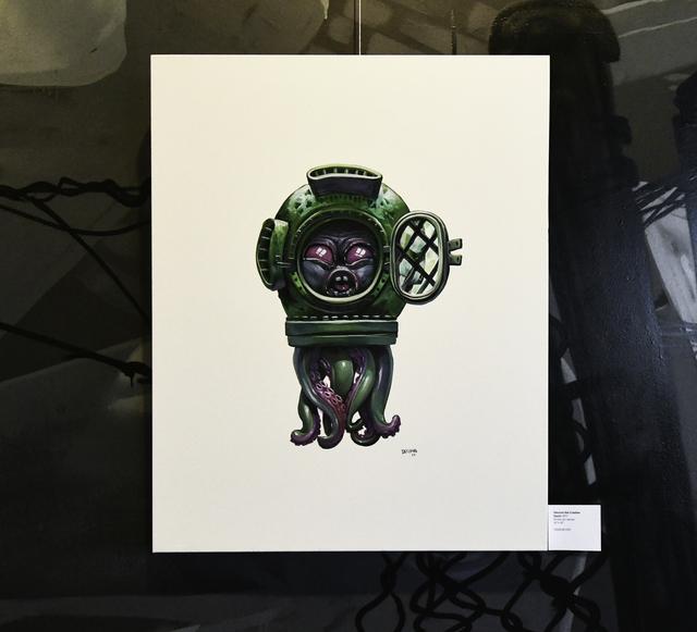 , 'Squid,' 2017, EWKUKS