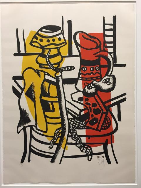 Fernand Léger, 'La Chaise ', 1951, Samhart Gallery