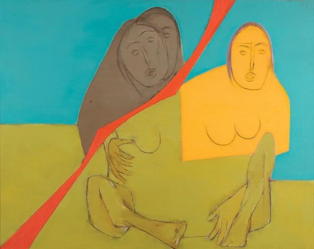 , 'Diagonal Series,' 1972, DAG