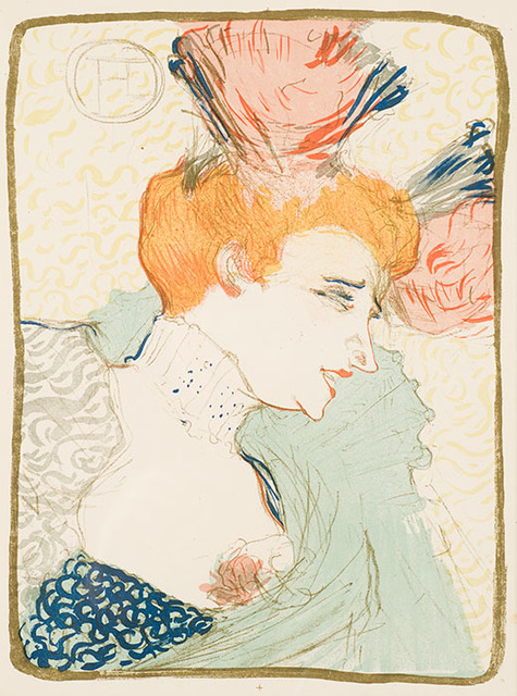 , 'Mademoiselle Marcelle Lender, en Buste,' 1895, Galerie d'Orsay