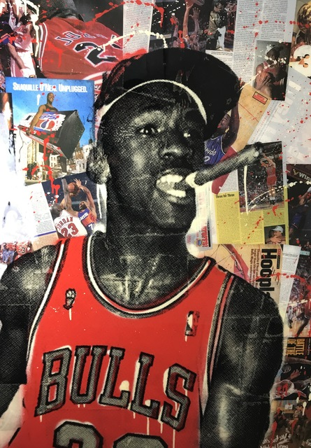SeekOne, '23 MJ', 2017, ACED GALLERY