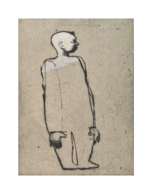 , 'Tête blanche,' 1997, Atelier-Galerie A.Piroir