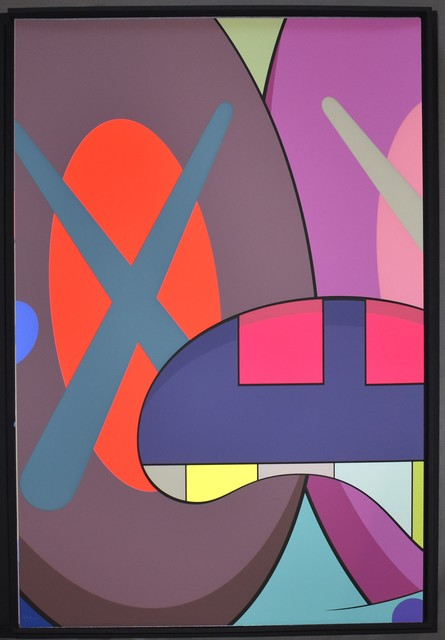 KAWS, 'Ups and Downs 3', 2013, Print, Screenprint on Saunders Waterford High White paper, Georgetown Frame Shoppe