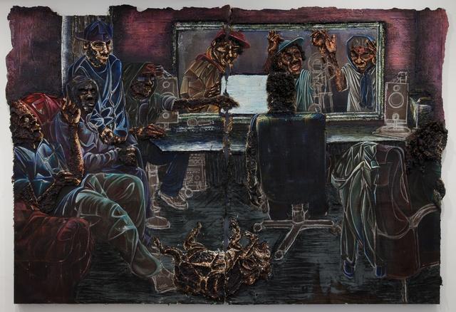 , 'Studio (diptych),' 2015, Jack Bell Gallery