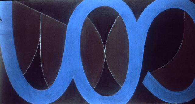 , 'Wave II 3 Blue ,' 1969, Octavia Art Gallery