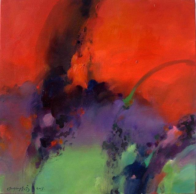Ou Yang Jiao Jia, 'Red Flower I', 2013, BAM Gallery