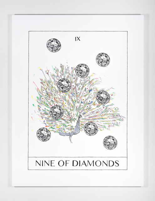 , 'Nine of Diamonds (Culmination),' 2018, Ever Gold [Projects]