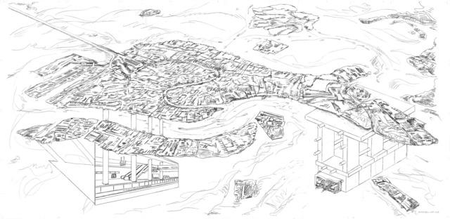 , 'Venice needs an underground (a metro)!,' 2007-2018, SARIEV Contemporary