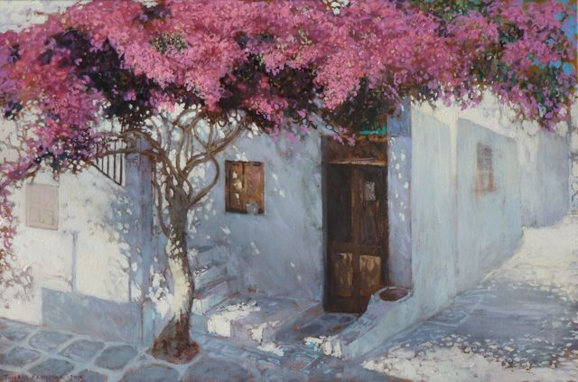 , 'Bougainvillea from Myconos,' 2015, Zofia Weiss Gallery