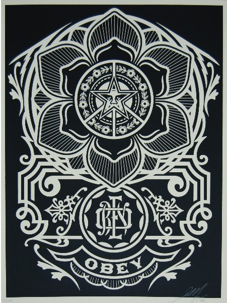 Shepard Fairey (OBEY), 'Peace ornament', ca. 2018, AYNAC Gallery