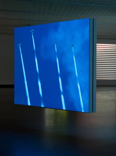 , 'Skytypers, 16 mm film loop,' 1997, Galerie Van Gelder