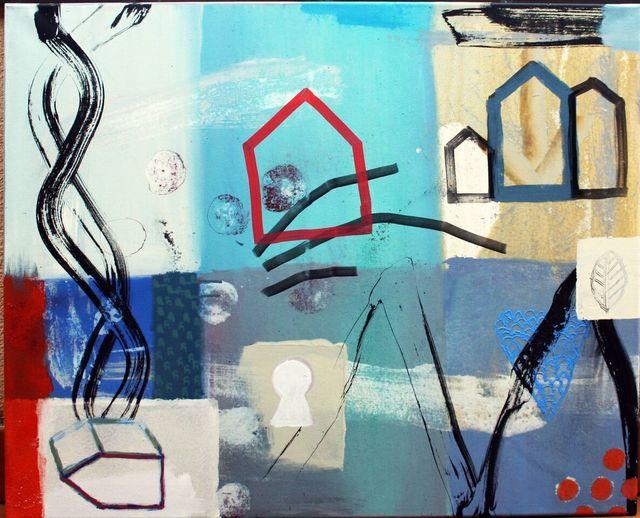 , 'Serie casas,' ca. 2014, Sala Dalmau
