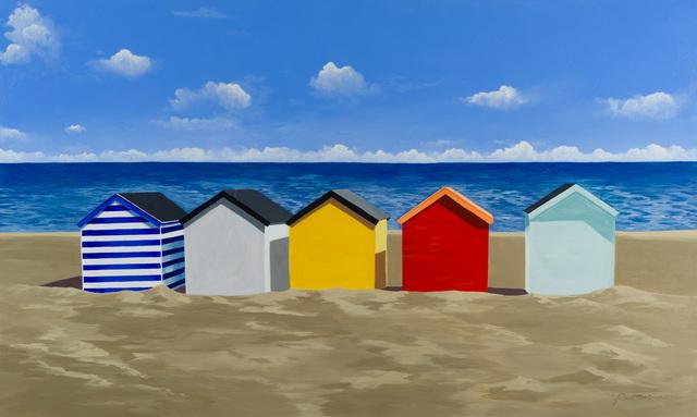 , 'Beach Huts,' , Merritt Gallery