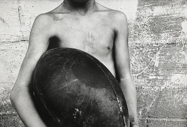 , 'Boy and Football,' 1974, Danziger Gallery