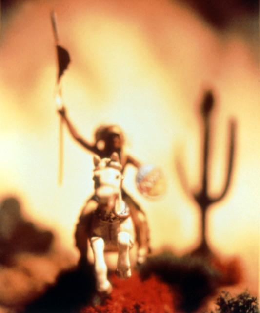 David Levinthal, 'Wild West 89-PC-C-33', 1989, Julie Nester Gallery