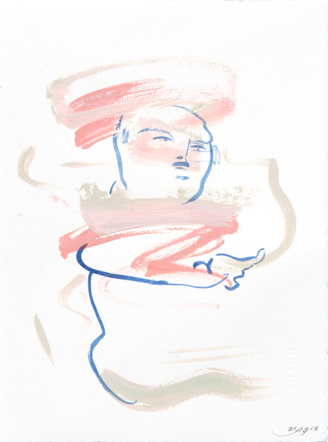 , 'Vertical Mini Drama III:j,' 2013, Moskowitz Bayse
