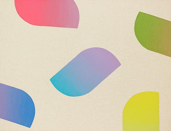 , 'Medium Gradient 2,' 2014, Galerie Van der Planken
