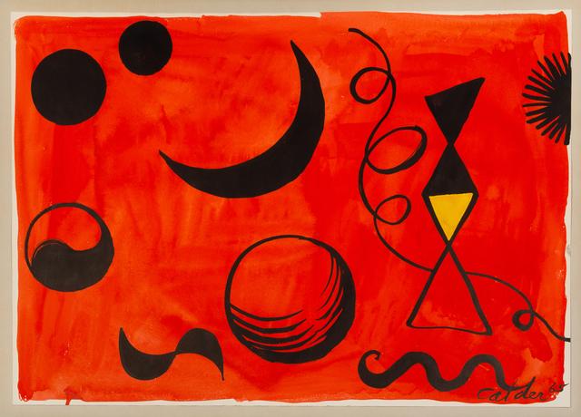 Alexander Calder, 'On the Red Sky', 1965, Hindman