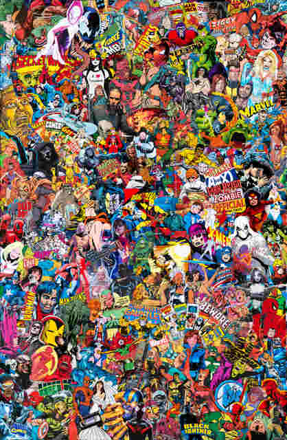 Mr Garcin, '80th Years', 2019, Drawing, Collage or other Work on Paper, Collage on Dibond, Galerie Christiane Vallé