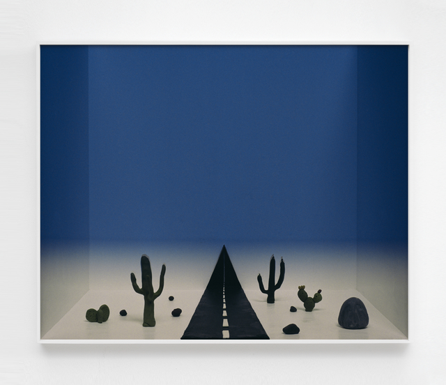 , 'Untitled (desert and road),' 2017, Sies + Höke