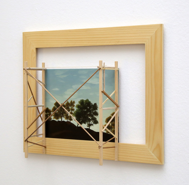 , 'Untitled (ANDAMIO I),' 2015, Max Estrella