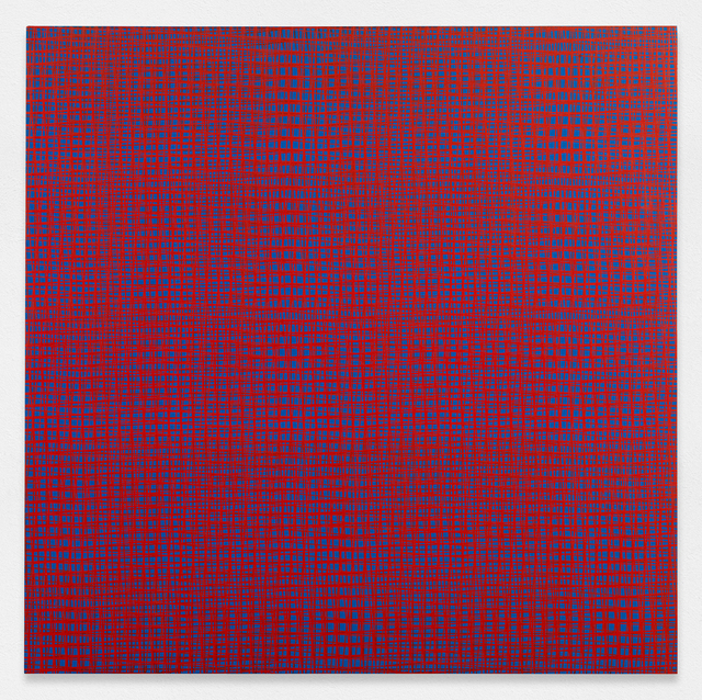 , '5 trames 85°, 87°5, 90°, 92°5, 95°,' 1969, The Mayor Gallery